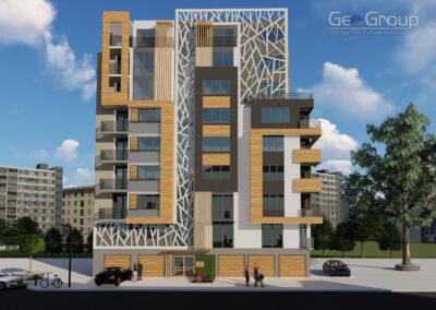 Многофамилна жилищна сграда  гр.Пловдив, ЖК Тракия